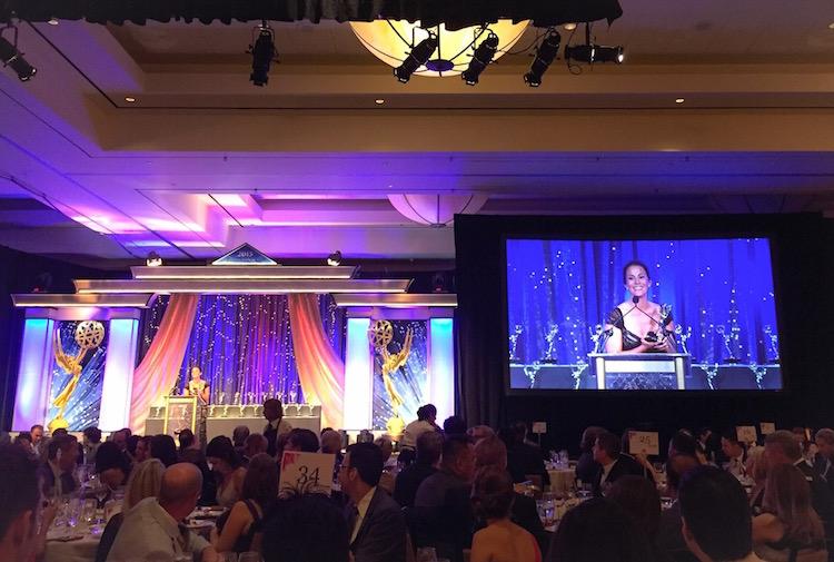 Christina Cindrich - Emmys Acceptance Speech