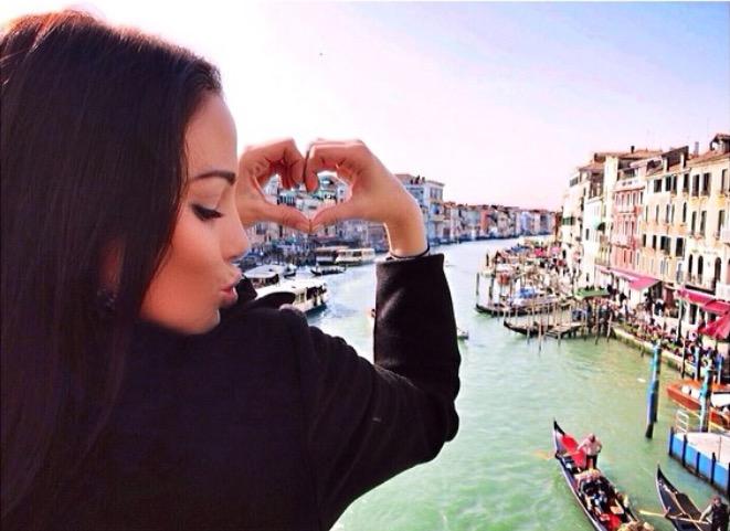 Christina Cindrich in Venice