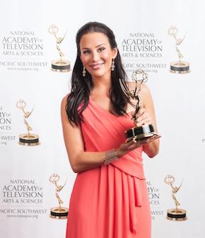 Christina Cindrich - Emmys 2014