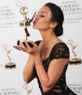 Christina Cindrich - Emmys 2015