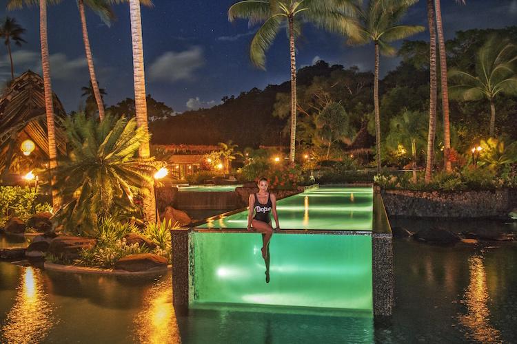 Christina Cindrich - Laucala Island in Fiji