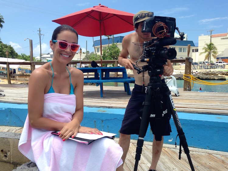 Writing, Producing & Filming in the Caymans - Christina Cindrich - HDFMagazine.com Interview