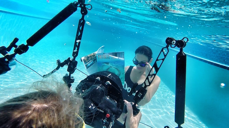 Christina Cindrich - Underwater Filming - HDFMagazine.com Interview