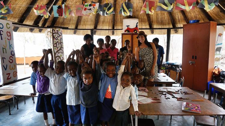Christina Cindrich - Zambia School Children